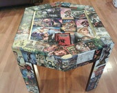First Comic Book Table