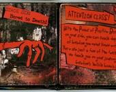 Black Emily Strange Duct Tape Wallet