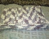 Cat Blanket 21x15 Natural Ombre