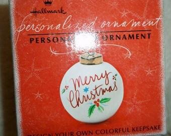 Hallmark Personalized Ornament