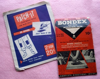 Vintage Notions to Patch-It or Mend It