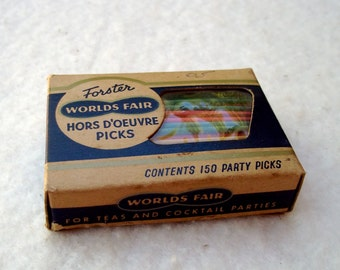 1960's Forster World Fair Hors D'oeuvre Picks