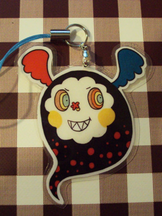 Charlotte Witch in Monster Form (Puella Magi Madoka Magica) Laminated Charm
