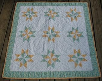 NEW PRICE Pinwheel Star Quilt