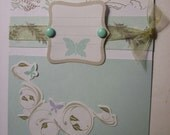 Absolutely Stunning Butterfly Card