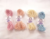 BAKER'S TWINE SPRING Colors Red Orange Yellow Light Blue 20 yards each