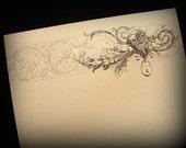 Lady Chatelaine - Writing Paper (Set of 10)