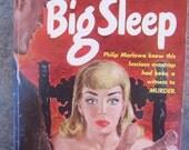 The Big Sleep.  Philip Marlowe Murder Mystery.  Vintage paperback novel