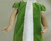 cute green luxury baby dress