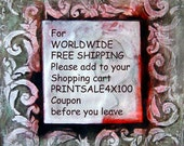 Code for Free Shipping Coupon Printsale4X100