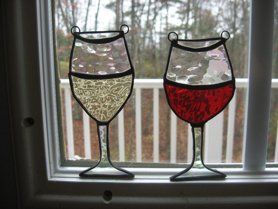 Stained Glass Wine Pair