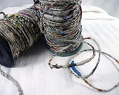 Newspaper Yarn---from recycled newspapers.  By the spool.  45 yards.
