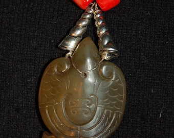 Eagle Jade Necklace
