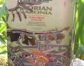 Garden Lantern from Reclaimed Olive Oil Tin- Laundry Day
