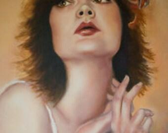 Custom portrait oil painting 14x18