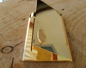 Business card case in gold, Credit card case