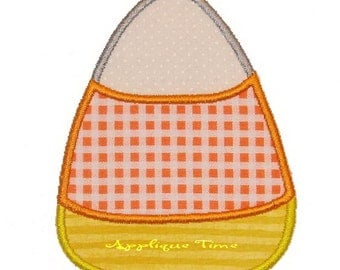 Instant Download Two Candy Corn Machine Embroidery Applique Designs 4x4, 5x7 and 6x10
