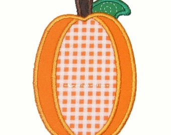 Instant Download Tall Pumpkin Machine Embroidery Applique Design 4x4, 5x7 and 6x10