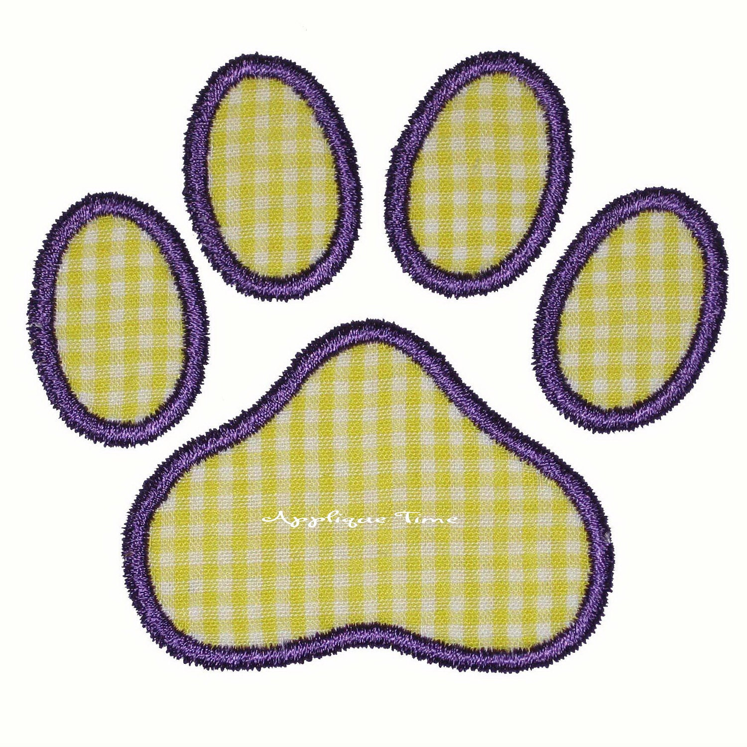 instant download paw print machine embroidery applique design 4x4  5x7 and 6x10 from