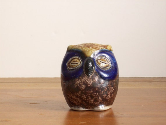 Small Midcentury Owl Figurine