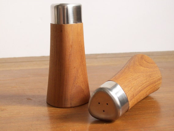 Swedish Modern Salt and Pepper Shakers