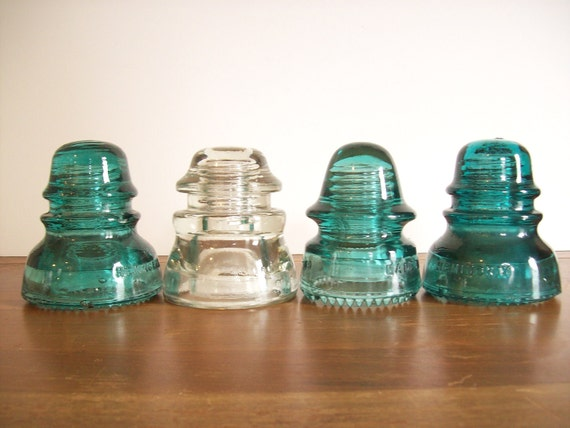 Instant Collection: Electrical Insulators, Vintage Glass