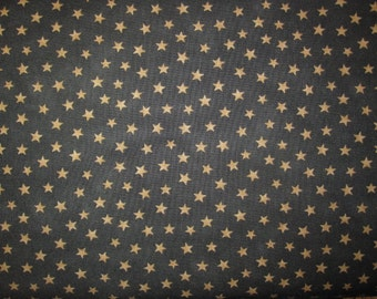 Looking Back by Brannock/Patek for Moda 504-13 Dark Grey with Oatmeal Stars
