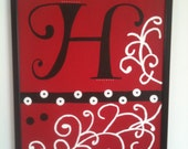 Custom Handpainted Cork Board