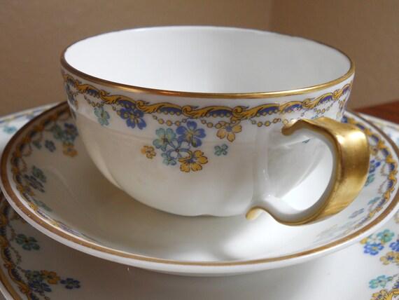 Limoges Vincennes Rare Vintage Porcelain China Set Haviland 32