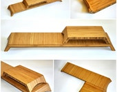 Pair of Reclaimed Bamboo Plateaux 206