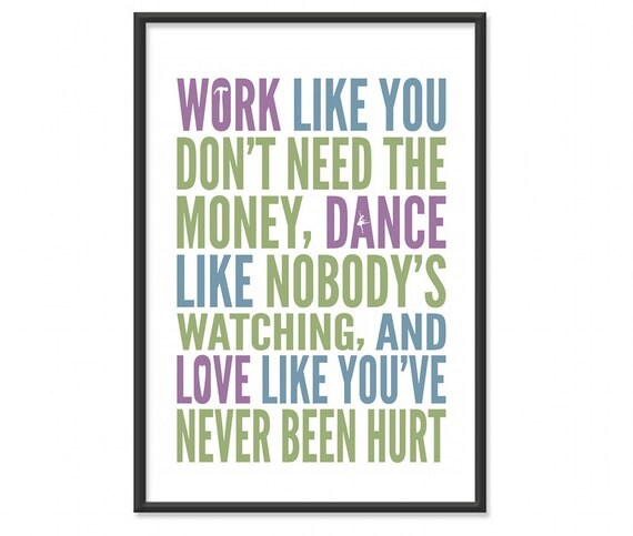Inspirational Quotes Motivation: Inspirational Quotes / Work Like You Don't Need The Money