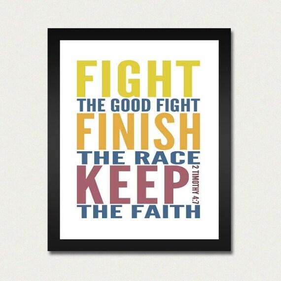 Faith Enough to Finish