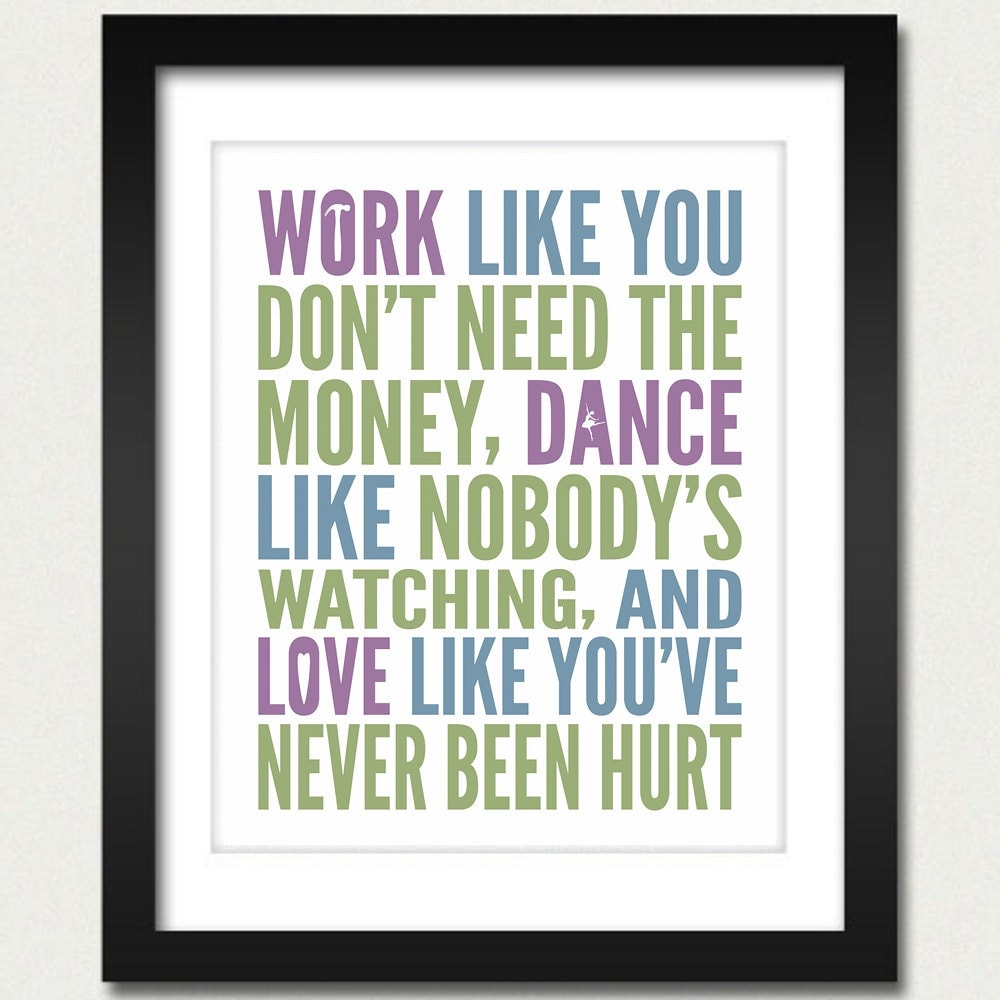 Motivational Inspirational Quotes: Inspirational Quotes / Work Like You Don't Need The Money