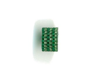 Woven Glass (Dread) Bead ... ... ... ... ... 14mm/o-11mm/i ... ... ...  ... 06x24 * 367