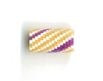 Woven Glass (Dread) Bead Tube ... ... ... 10mm/o-7mm/i ... ... ... ... ... 16x17 * 529