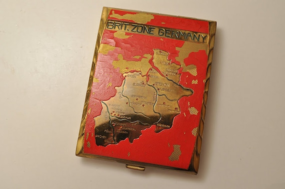 Vintage British Zone of Germany 1945-1949 Cigarette Case