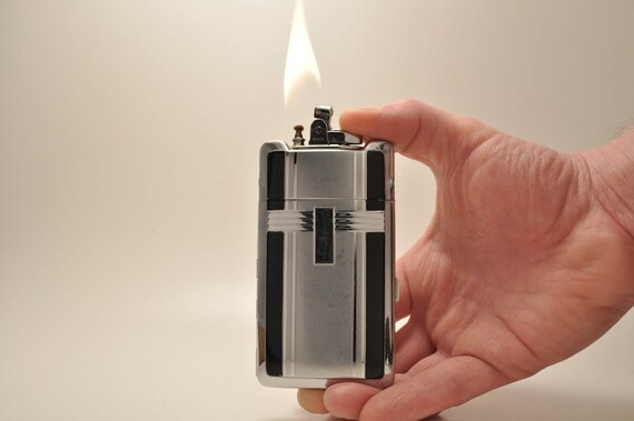 Working Extremely RARE Working 1935 Ronson Smart Set Cigarette Case and Lighter