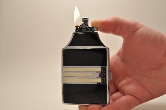 Working ART DECO Ronson Mastercase Cigarette Case and Lighter