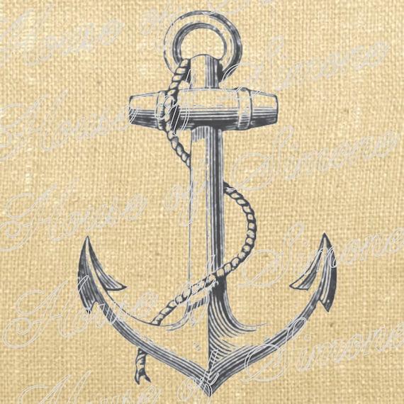 Anker Schiff Nautische Meer Vintage Download Graphic Art