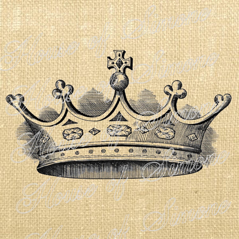 Crown Cross King Queen...