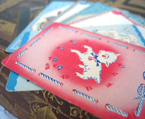 Vintage Nursery Rhymes Playing Cards