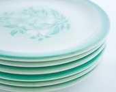 Vintage Syracuse Restaurant Salad Plates set of six
