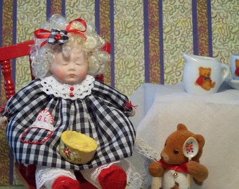 GOLDILOCKS and BABY BEAR  A Fairytale Doll