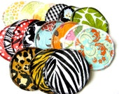 Nursing Pads 10 PACK - You Pick Prints - Waterproof Lining with Soft Organic Cotton Sherpa - Save 15%!