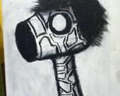 EmoRaff PRINT 11x14 Black and White
