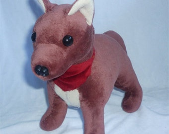 SEWING PATTERN ONLY ~ Standing Dog plush