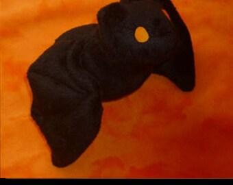 Black bat plush - SEWING PATTERN & INSTRUCTIONS