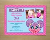 Abby Cadabby Birthday Invitation - Custom Printable