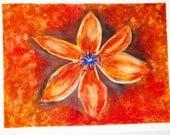 Lily Original Watercolor Painting