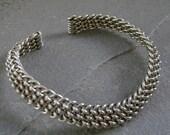 Battle Bracelet in Sterling Silver